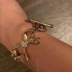 Juicy couture bow bracelet